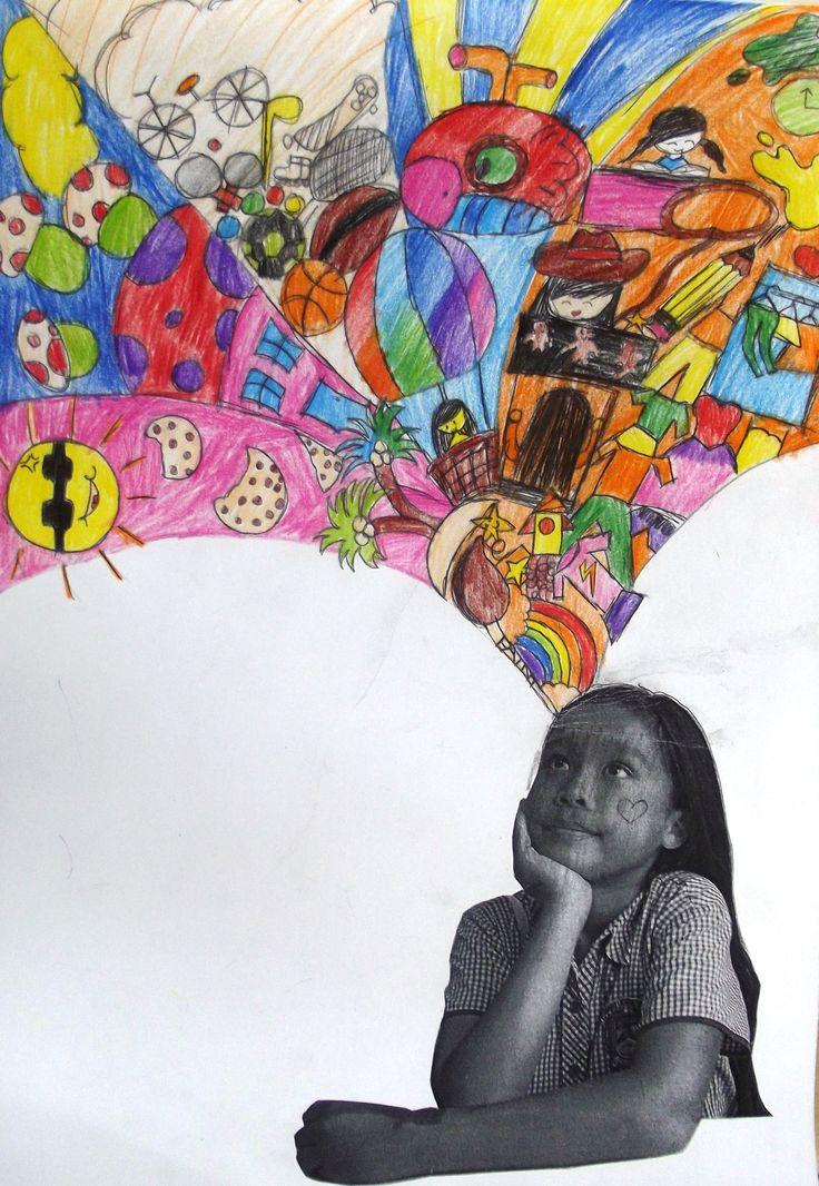 Art Ideas linked to Co... Imagination Artwork