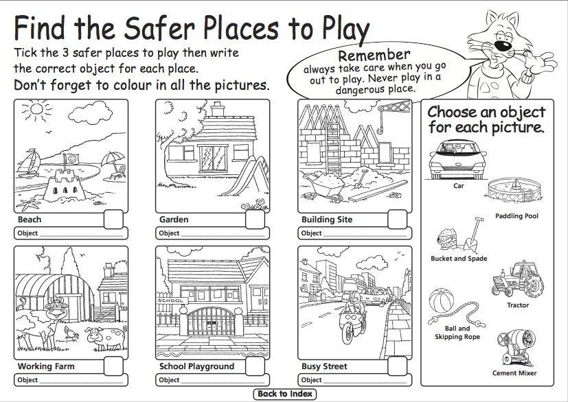 Road Safety Resources for Foundation, EYFS and Reception | Road Safety ...
