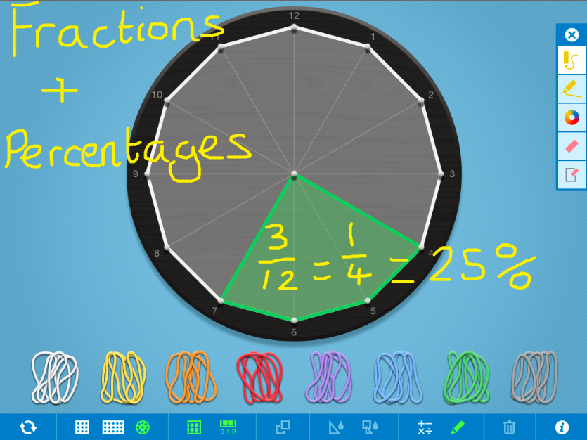 Fractions Decimals And Percentages Games For Ks2 Games Year 4