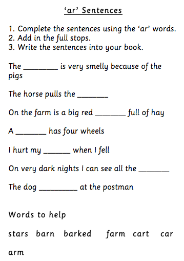 Create your own vocabulary worksheets