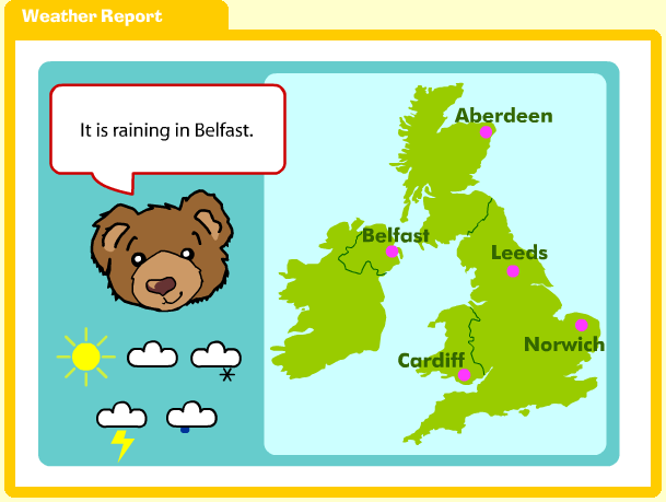 Weather activities and resources ks1 teaching about weather and weather symbols and map work gumiabroncs Gallery