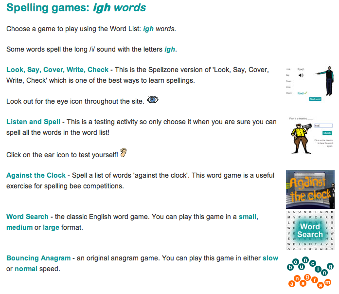Igh Sound Games And Lesson Ideas For Eyfs Igh Worksheets Words