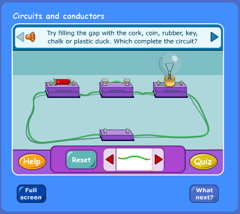 Electricity And Circuits Quiz For Class 6