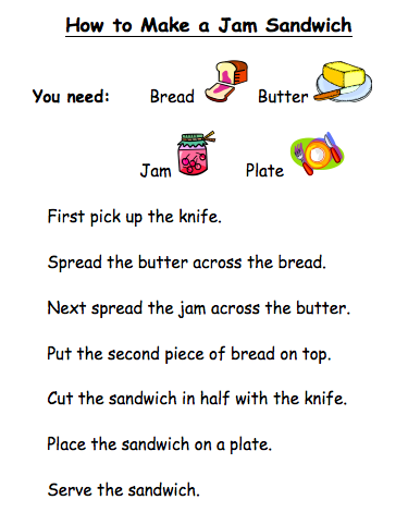 Writing Instructions EYFS and Reception | Foundation ...