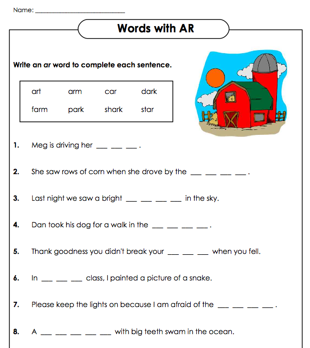 words in context worksheet