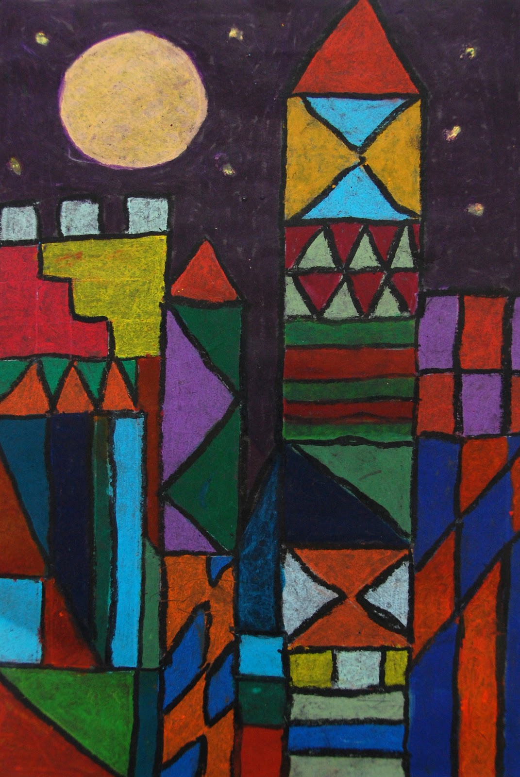 Paul Klee Artwork and Ideas for Primary School Children