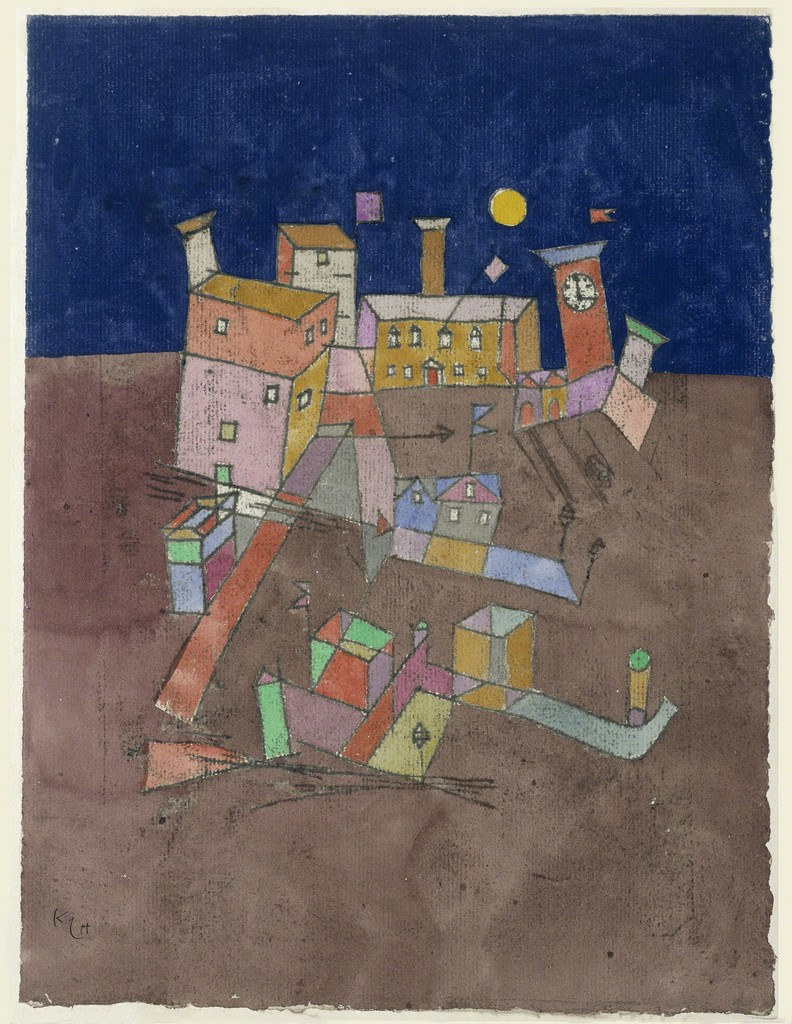Part Of Art : Paul klee artwork and ideas for primary school children